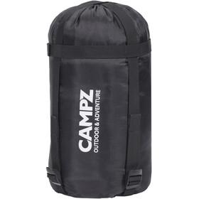 CAMPZ Trekker light 300 - Sac de couchage - gris/rouge